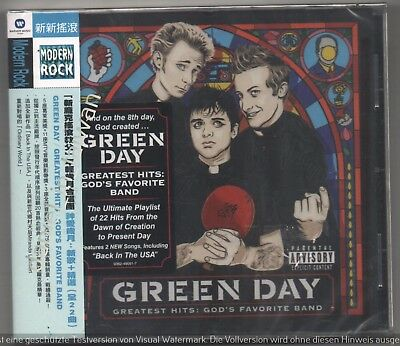 TAIWAN OBI CD Green Day: Greatest Hits - God's favorite Band (2017) SEALED