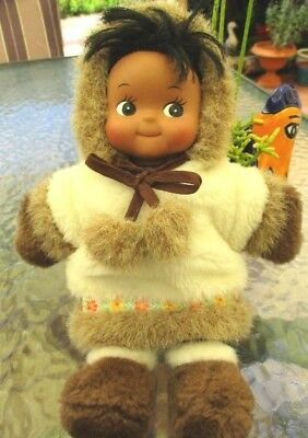 1980's Eskimo doll from Alaska..