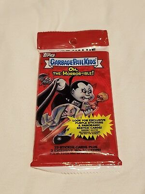 2018 Topps GARBAGE PAIL KIDS Oh, The Horror-ible!