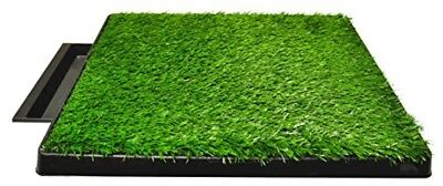 Downtown Pet Supply Dog Pee Potty Pad, Bathroom Tinkle Artificial Grass Turf, X
