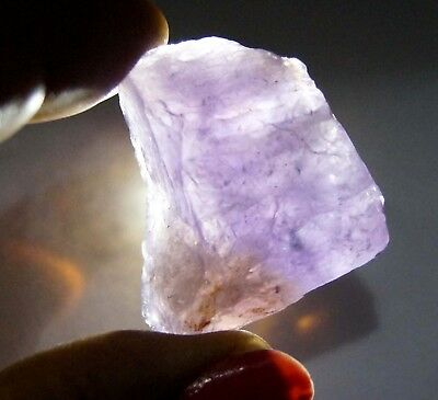 112 Ct 100% Natural Purple & Yellow Ametrine Rough Untreated Bolivia Facet Gem