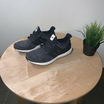 88c271c54e22d ADIDAS Ultra BOOST 3.0 Utility Black S80731 Wool 3D heel cup core size 10.5