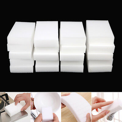Sponge Cleaner Multi-functional Nanoparticles White 10*6*2cm Hot Useful Safety