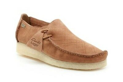 CLARKS ORIGINALS MENS ** Lugger Macara Scratched Lea ** UK 8