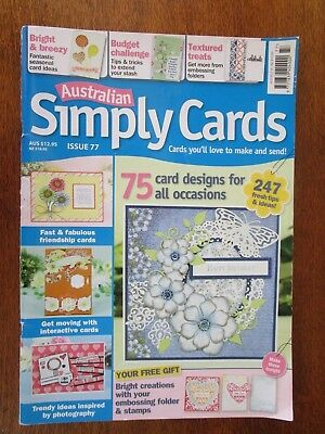 Australian Simply Cards Magazine Issue 77