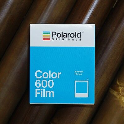 *NEW* Polaroid Originals COLOR FILM FOR Polaroid Type 600 (packed well for post)