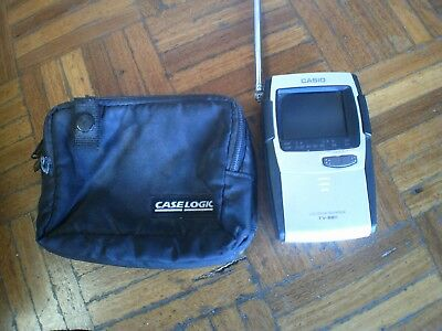 """Vintage Casio Portable Led Color Tv-880C, 2.3"""" Screen - For Collectors"""