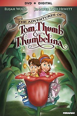 The Adventures of Tom Thumb and Thumbelina (2002 Animated) DVD NEW