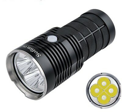 5000LM Powerful LED Flashlight 18650 Multiple Super Bright Torch Aluminum Alloy