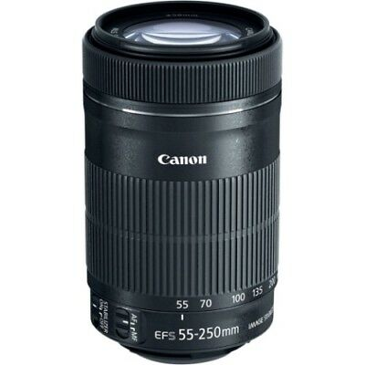 Canon EFS 55-250mm F4-5.6 IS STM OBIETTIVO