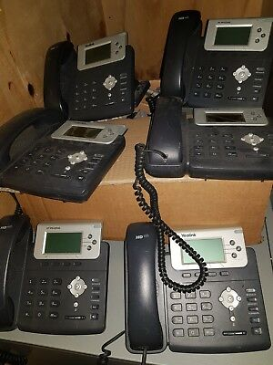 ** Bundle of Yealink Handsets, 6 x SIP-T22IP - Worth $300+