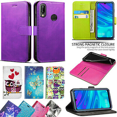 For Huawei Honor10 Lite New Stylish PU Leather Wallet Flip Stand Case Cover