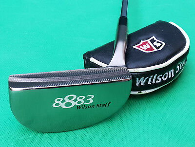 """Wilson Staff 8883 34"""" Putter – Fantastic Condition + Headcover"""