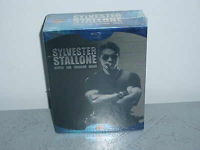 Coffret Sylvester Stallone (4 Dvd Blu-Ray : Cobra + Expendables + Assassins.)