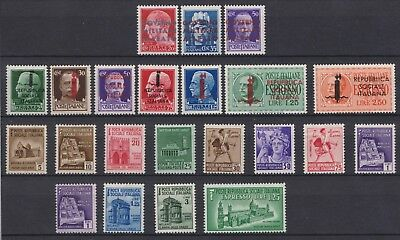 Third Reich-Italy Republic-occupation 1941/1944, MNH/OG