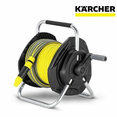 Karcher 25m Free Standing Wall Mounted Hose Reel Unit Only 26452810