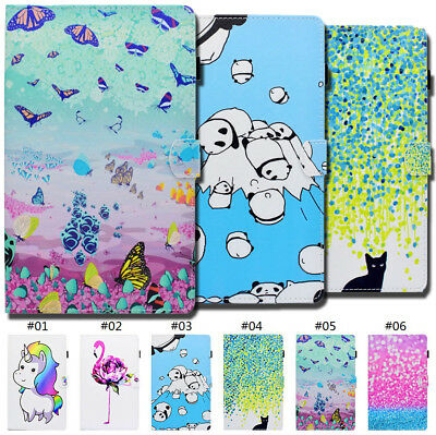 Fashion Folio Stand Smart Wake/Sleep PU Leather Case Cover For Samsung Galaxy