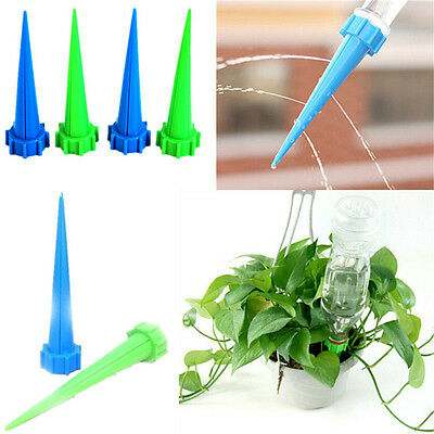Automatic Garden Cone Watering Spike Plant Flower Waterers Bottle Irrigation