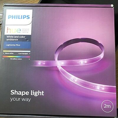 Philips Hue White And Color Ambiance Light strip Plus