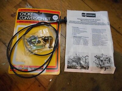 Vauxhall Astra Cavalier Carlton Manta B Varajet II Manual Choke Conversion Kit