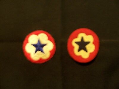 WWI WWII Army Military arm Patches