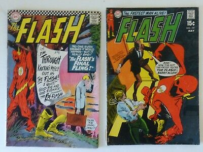 """DC 's """"The Flash"""" #185 & 189"""