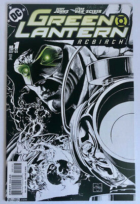 Green Lantern Rebirth #1 B&W Cover Near Mint (2004)