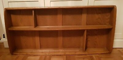 ERCOL Plate Rack Display in Elm colour - excellent condition