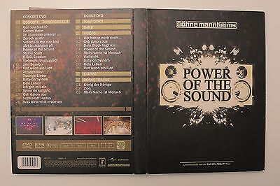 Söhne Mannheims - Power of the sound - doppel Music DVD