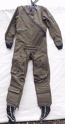 RAF Aircrew Coverall Immersion Suit Fancy Dress Fishing Waders Drysuit Grade 1