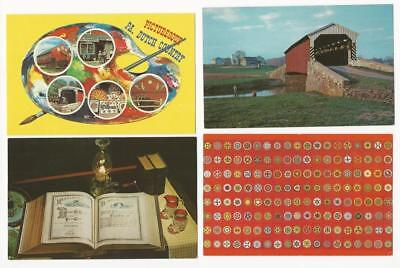 Pennsylvania Postcards. 12 cards. Pennsylvania Dutch Country