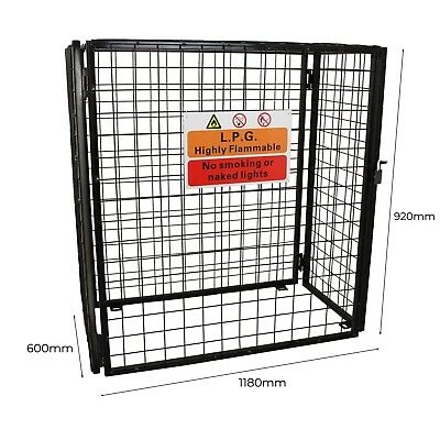 Gas Bottle Mesh Cage 920mm Monster Shop