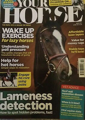 Your Horse Magazine March 2017 Charlotte Dujardin on competing with confidence.
