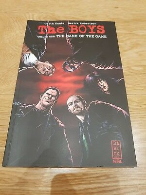 The Boys Garth Ennis Graphic Novel - Volume 1 The Name Of The Game (RRP £9.99)
