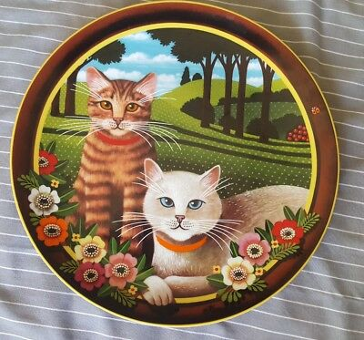 Uncle Tad's Cats Peaches and Cream Anna Perenna Collector Plate #915/5000 #2/4