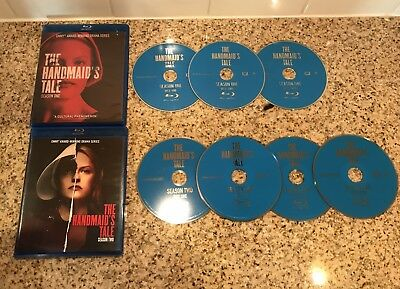 The Handmaid's Tale: The Complete Season 1-2 (Blue Ray DVD, 2018, 7-disc)