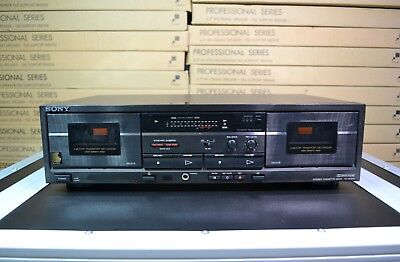 Sony TC-W370 Cassette Player Tape Deck