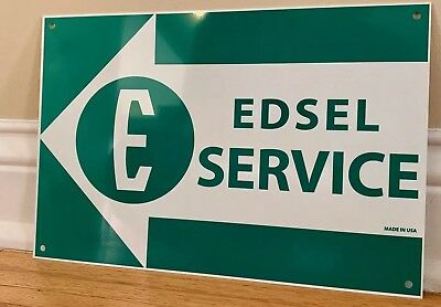 Edsel Ford Service Reproduction Advertising Garage Sign