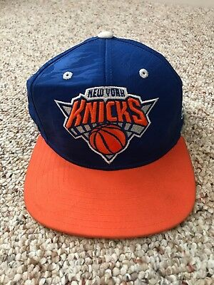 b69f92a12961e RARE VINTAGE NEW York Knicks 2000 NBA Playoffs Hat One Size Fits All ...