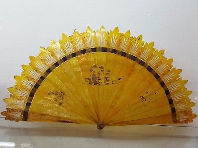 Rare Chinese  Fan Qing 19th
