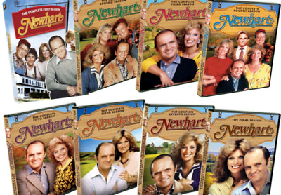 Newhart: The Complete 1980s TV Series Seasons 1-8 (DVD Set) NEW 60 Day Warranty