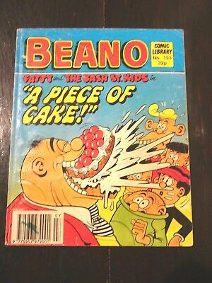 Beano Comic Library No.193 1990 FATTY and THE BASH STREET KIDS A PIECE OF CAKE