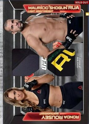 [DIGITAL] Topps UFC Knockout Card Ronda Rousey Rua Dominant Dual Relic (100cc)
