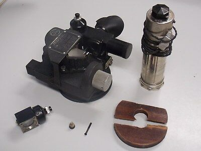 Vintage Sextant Aircraft A-10A W/ Travel Case & Accessories