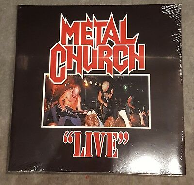 Metal Church / Live / Limited Edition in Blood Red Vinyl / High Roller Records