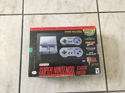 Super Nintendo Entertainment System: Super NES Classic Edition Condition is New