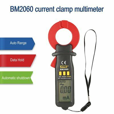 SZBJ BM2060 Micro current digital clamp meters Multimeter ampere meter MB