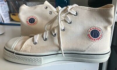 Vtg Boy's NOS 50s 60s USA Made Basketball High Top Shoes sz 2 5420s Sneakers