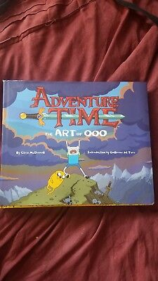 Adventure Time: The Art of Ooo Art Book (with dust jacket) 1st Print! Make Offer