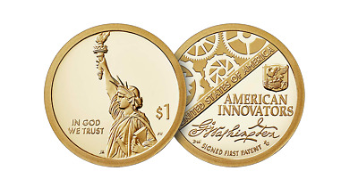 2018 S American Innovation $1 Dollar Proof Coin(2) with Box & Coa